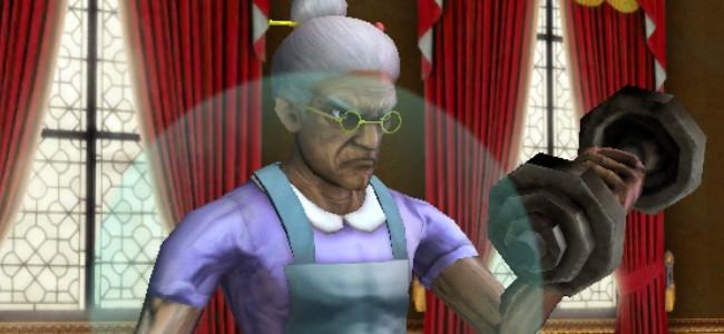 若かりし頃の美貌を取り戻せ!3Dのおばあちゃんをタップでしごく育成ゲーム「100万歳のババア」