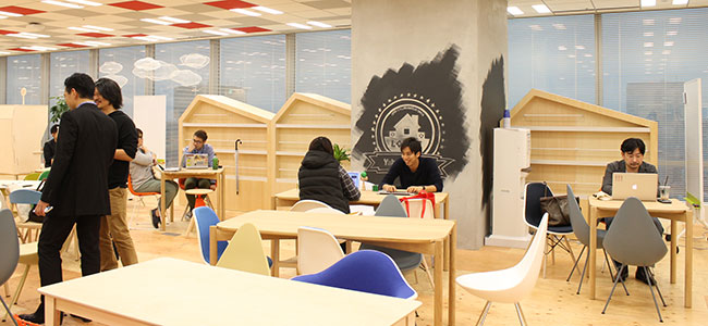 Yahoo! JAPANのオフィスを一部開放!コワーキングスペース「LODGE」にお邪魔してきたよ