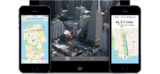 iOS 8ではマップに乗り換え案内も追加される!?大幅に改善されるらしいぞ!