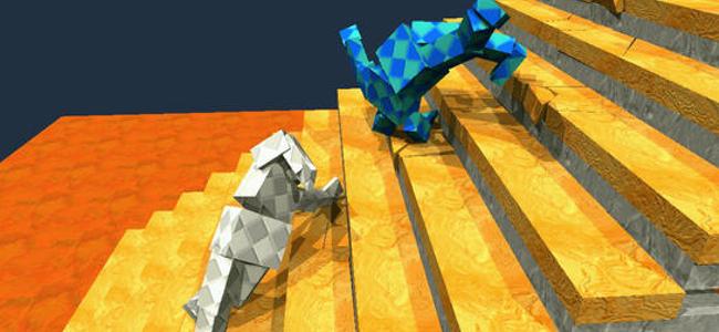 【ミート3分動画レビュー】3D力士がひたすらフラフラする「Sumotori Dreams」がシュール過ぎる