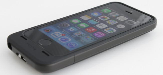 世界初iPhoneのデータ容量を増やせるバッテリーケース「mophie sapace pack」を使ってみた!