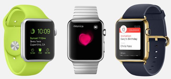 ついにApple Watchが4月24日に日本でも第一次発売国として発売決定!値段は42,800円から最高2,180,000円!