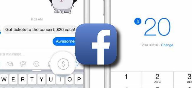個人間の支払いはFacebookで。米国でMessengerを通じて友達間で送金できる機能を追加