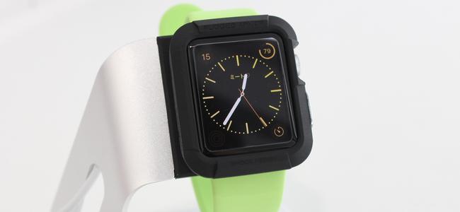 Apple Watchをしっかり守りたいならこれ「Spigen ラギッド・アーマー」レビュー