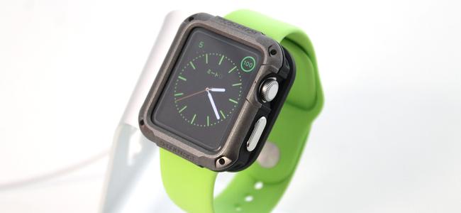 Apple Watchの液晶まで完全に守る最強ケース「Spigen タフ・アーマー 」レビュー
