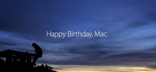 """Mac誕生30周年!Appleが記念動画「""""1.24.14""""」を公開、撮影はなんとiPhoneのみ!"""