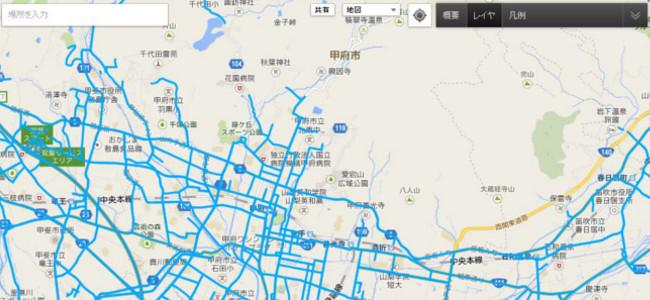 Googleが雪による災害地域の交通情報を公開!通れる道を確認しよう!