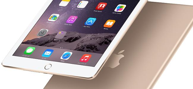 iPad Air 2発表!史上最薄6.1mm、Touch ID搭載、ゴールドモデルもラインナップ!