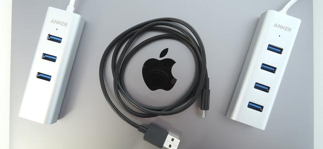 遂に発売されたMacBookで使えるAnker製USB-Cケーブルとハブを一気にレビュー!