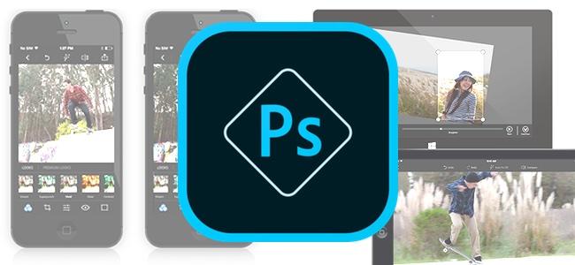 「Photoshop Express」がアップデート。FacebookやTwitter、YouTubeなどのヘッダー用画像を作成するための縦横比セットを追加