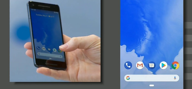 次期Androidとなる「Android P」が正式発表。ホームボタンがiPhone Xに似た横長バーに変更