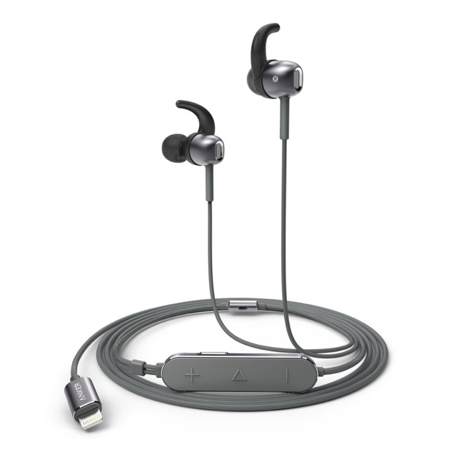 Anker SoundBuds digital IE 10_gray