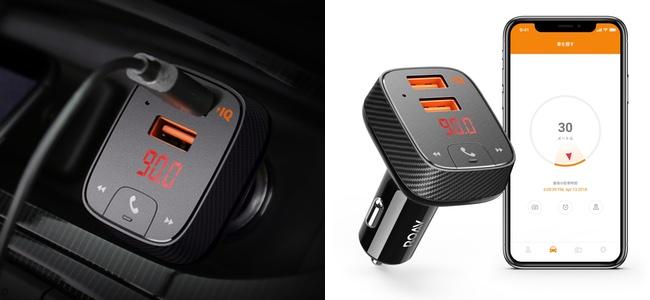 Ankerから、FMトランスミッターでありUSBカーチャージャーでもあり駐車位置の記録までできる「Roav Transmitter F2」が発売開始