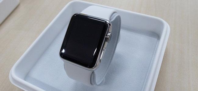 【開封の儀】Sportよりもやはり高級感のあるApple Watchフォトレビュー
