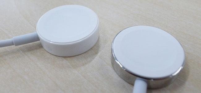 価格差はこんなところにまで!「Apple Watch」と「Apple Watch Sport」では充電ケーブルのデザインが違う!