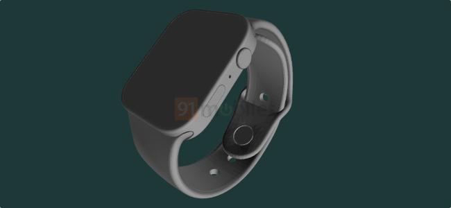 やはり「Apple Watch Series 7」は初の筐体デザイン変更に?フラット形状のレンダリング画像が投稿される