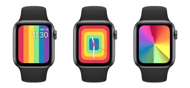 Apple Watchの次期OSアップデート「watchOS 6.2.5」で新しい「プライド」「グラデーション」ウォッチフェイスを追加