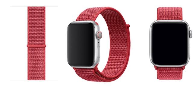 Apple Watchスポーツループに(PRODUCT)REDカラーが追加