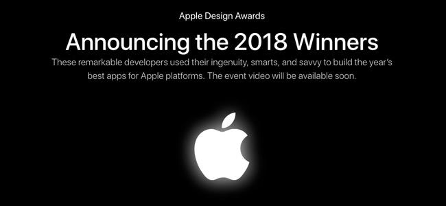 Appleが優れたデザインのアプリを表彰する「Apple Design Awards 2018」受賞アプリが発表