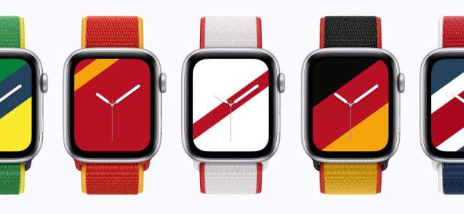 Apple Watchの純正バンドに世界22の国をモチーフにした限定新色「インターナショナルコレクションスポーツループ」が追加