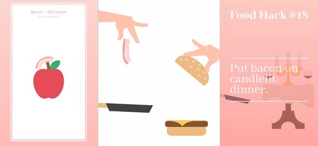 森羅万象あらゆるものにベーコンを乗せる「Bacon – The Game」理由はただ一つ、ベーコンは至高の存在だから