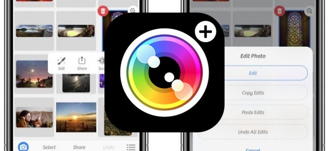 高機能カメラアプリ「Camera+」がアップデート、写真に適用させた編集内容をコピーして他の写真に適用できるように