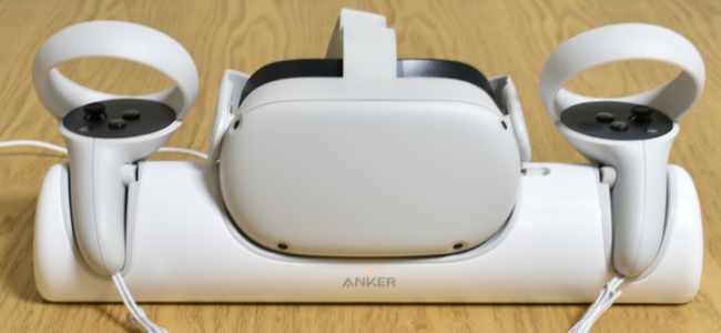 Ankerから「Oculus Quest 2」ヘビーユーザーには嬉しい専用の充電ドック「Anker Charging Dock for Oculus Quest 2」発売!