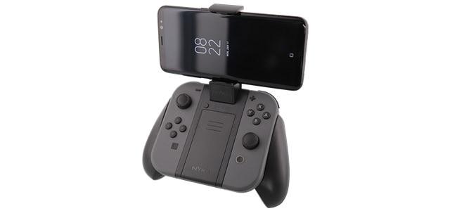 スマホをJoy-Conにマウント。「スプラトゥーン2」などNintendo Switchでのオンラインプレイで使いたい「Clip Grip Power for Nintendo Switch」登場