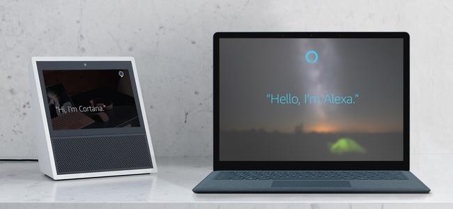 MicrosoftのAI「Cortana」とAmazonのAI「Alexa」が今年後半にも連携を開始。AlexaからWindowsPCにアクセスしたり、CortanaからAmazonの買い物ができるように