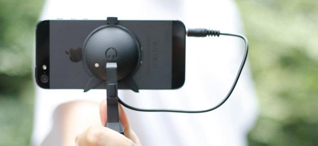 超コンパクトなiPhone用スタビライザー「Elephant Steady」の技術がスゴい