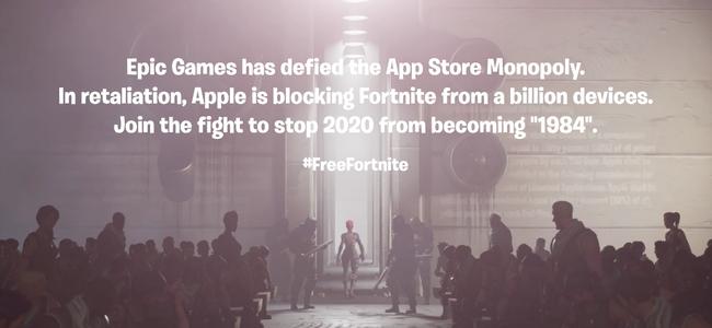 Epic Games、Appleとの訴訟問題により、iOS/macOSへ「Fortnite」の新しいチャプター2 – シーズン4をリリースしないことを発表