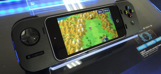 iPhoneのゲーム環境が変わる!iPhone用ゲームコントローラー「ロジクール G550」が発売!