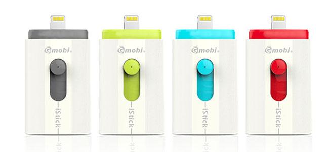 Lightning端子のついたUSBメモリ「Gmobi iStick」が9月に発売!16GBのiPhoneが救われるぞ!