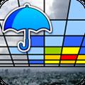 いま降ってる雨の量がひと目で分かるARカメラアプリ「Go雨!探知機」