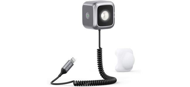 AnkerからiPhoneのカメラと連動する外付けLEDフラッシュライトが発売!