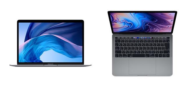 True Tone Retinaディスプレイを搭載した「MacBook Air」と「MacBook Pro 13インチ」の最新モデルが発売開始。MacBook Proは全モデルでTouch Bar搭載に