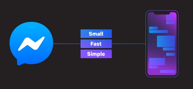 FacebookがiOS版「Messenger」アプリの改修を発表。起動を2倍に高速化、アプリサイズは1/4に