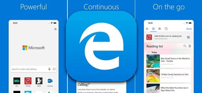 マイクロソフトがWindows搭載ブラウザのiOS版となる「Microsoft Edge」をApp Storeでリリース