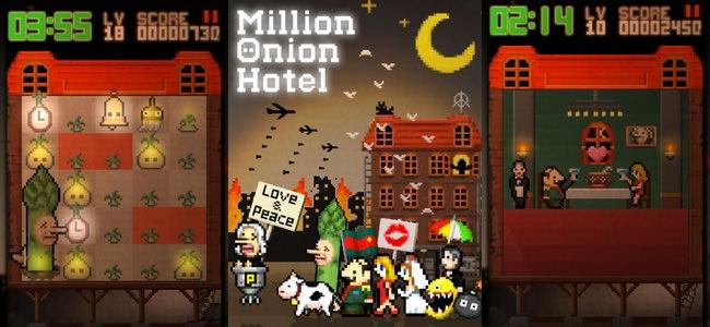不思議なパズルをプレイすると不思議な物語が展開する。PSの名作「moon」スタッフ最新作「Million Onion Hotel」リリース
