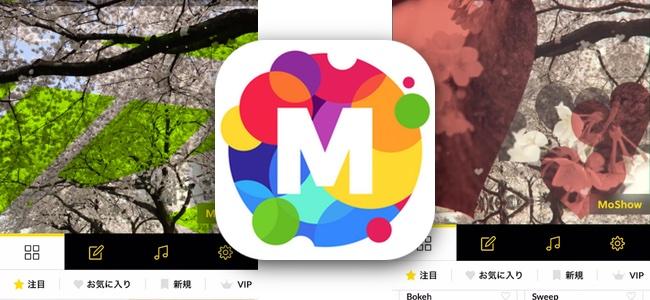 圧倒的なデザイン性の高さと簡単さ。写真を選ぶだけでオシャレすぎる動画が作れる最強のスライドショー作成アプリ「MoShow」