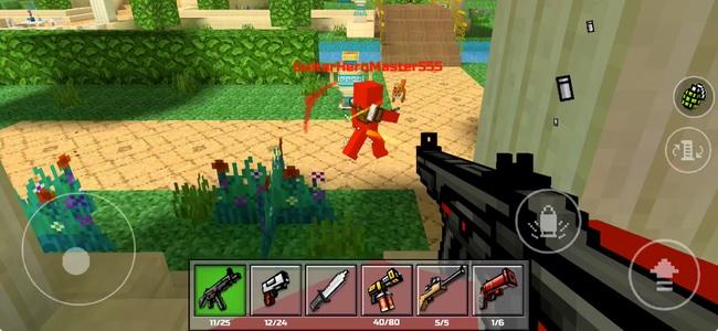 マインクラフトテイストな世界で本気のオンライン対戦シューティング!見た目以上に本格的な「Pixel Gun 3D」