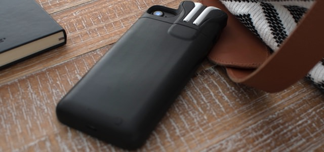 AirPodsを収納、iPhone 7/7 Plusも同時に充電できるバッテリーケース「PodCase」が登場