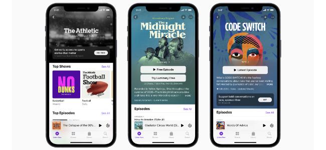 AppleのPodcastサブスクリプションサービス、5月開始予定だったが、6月に延期していた模様