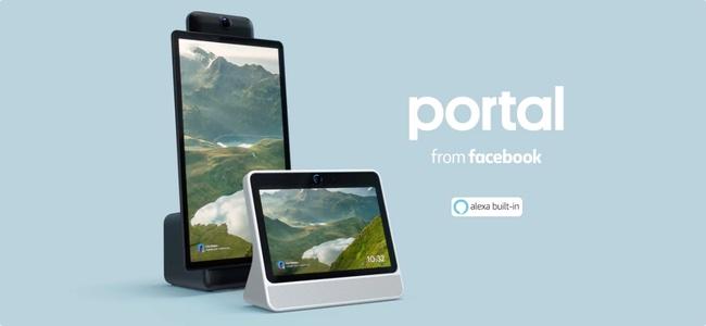 Facebookがユーザー同士でビデオ通話ができるAlexa搭載デバイス「Portal」を発表