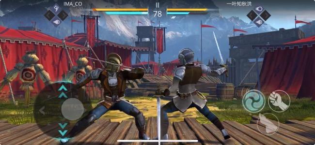 リアルな動きとスピード感が生々しい緊張感を作り出す。スマホに最適化された格闘ゲーム「シャドウファイト 3」
