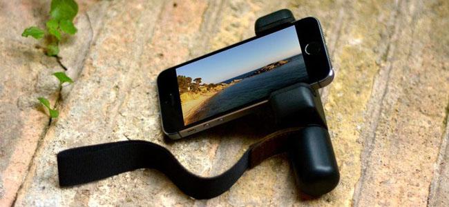 iPhoneでの動画撮影がぐっと便利になるスマホホルダー「Shoulderpod S1」