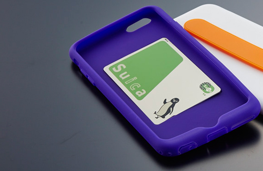 Silicone Case with Card Pocket & Grip Band (6)