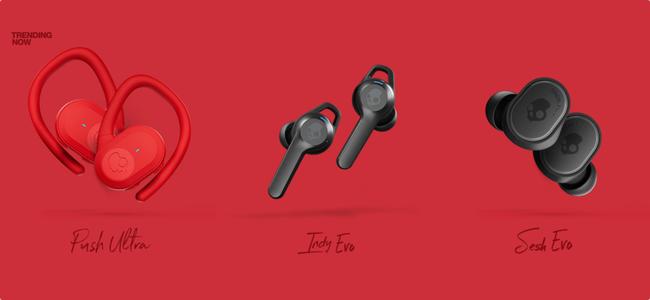 忘れ物防止タグの「Tile」の機能を搭載した完全ワイヤレスイヤホンがオーディオブランド「Skullcandy」から3機種発売!