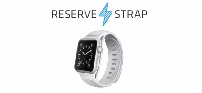 Apple Watchのバッテリー駆動時間を延ばせるバッテリー内蔵ベルト「Reserve Strap」