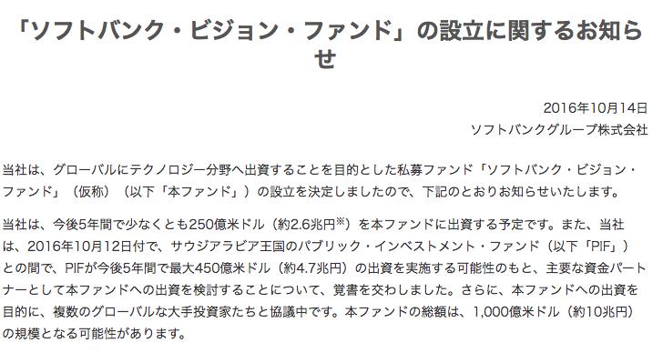 SoftBankfund